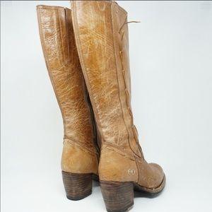 Bed Stu Fate Tan Riding Boots